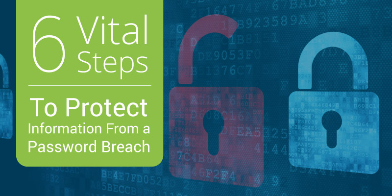 Learn about 6 ways you can prevent information from a password breach.