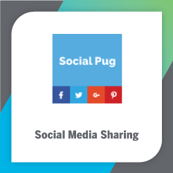 Social Pug is the best WordPress plugin for adding social media tools to your blog.